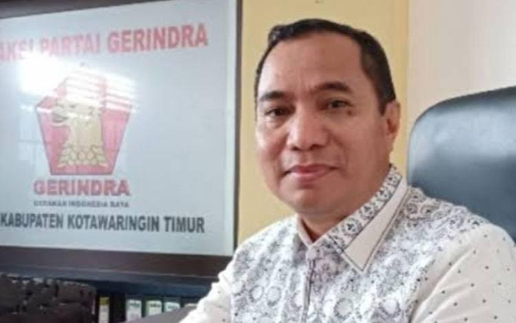Bakal calon wakil bupati Kotim H Sanidin