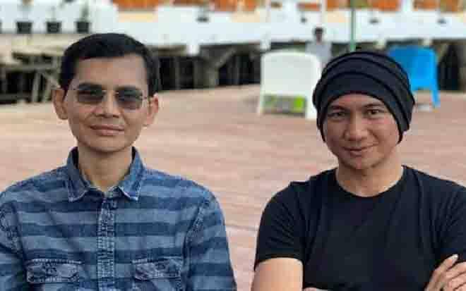 Anji mengunggah foto bersama Hadi Pranoto yang ia sebut menemukan antibodi Covid-19. (Foto: Instagram Anji)