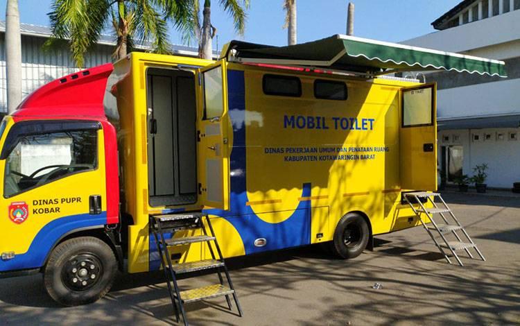 Mobil toilet keliling milik Pemkab Kobar tengah dimodifikasi dan akan diluncurkan pada tahun ini 2020.