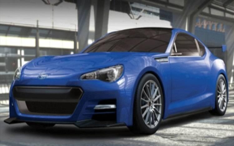 Subaru BRZ Coupe. (totallymotor)