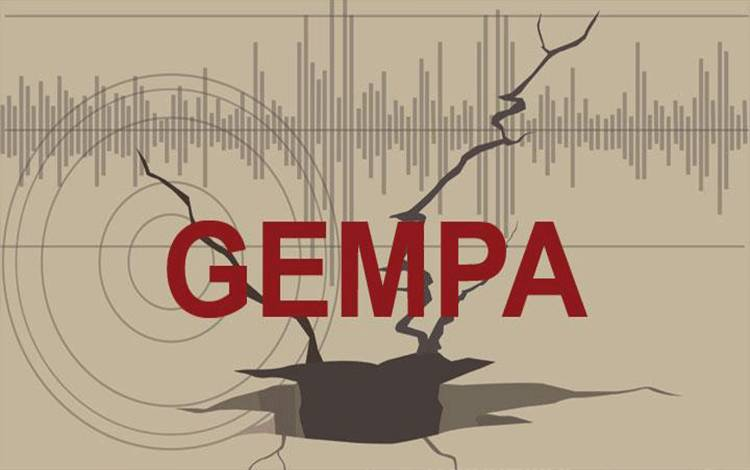 Ilustrasi gempa. shutterstock.com