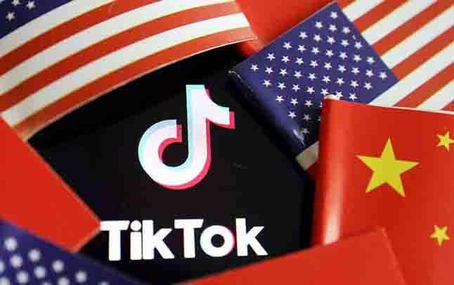 Ilustrasi TikTok. (foto : Reuters via teras.id)