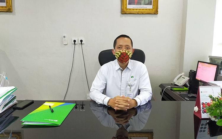 Keterangan foto : Kepala BP Jamsostek Cabang Sampit Mulyono Adi Nugroho