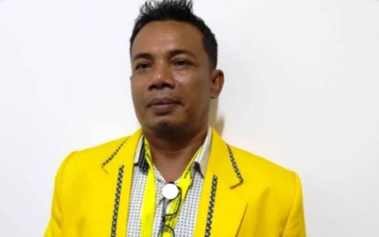 Sekretaris DPD Golkar Kabupaten Kotim, Joni Abdi.
