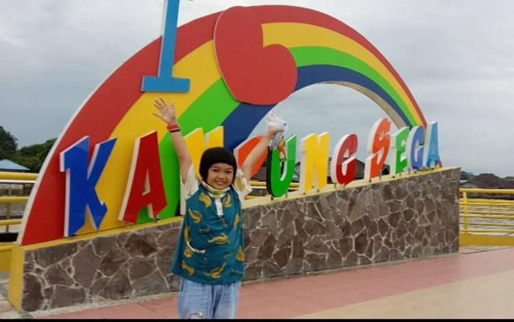 Kawasan Kampung Sega Waterfront City Kelurahan Mendawai