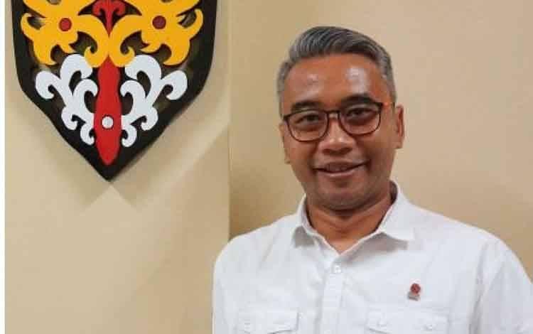 Kepala Bursa Efek Indonesia atau BEI Kalimantan Tengah, Stephanus Cahyanto Kristiadi.