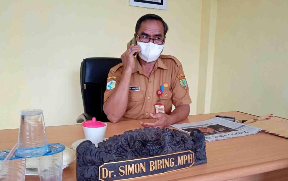 Koordinator Bidang Pencegahan Gugus Tugas Percepatan Penanganan Covid-19 Kabupaten Barito Timur, Simon Biring.