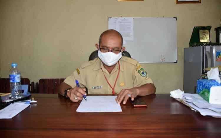 Plt Kepala Dinas P3AP2KB Kapuas, H Dusi