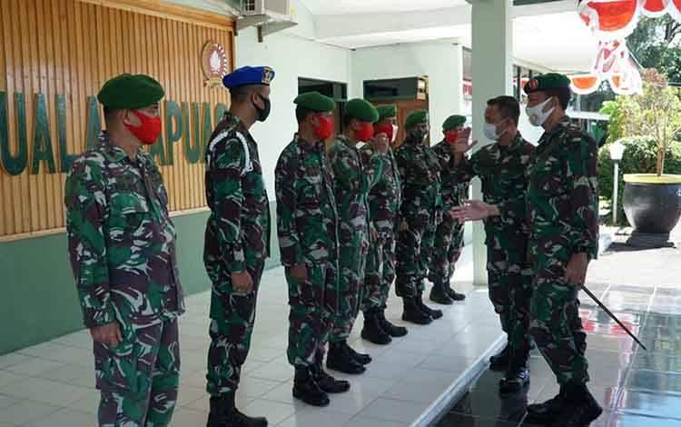 Kodim 1011 Kuala Kapuas Terima Kunjungan Tim dari Pusterad, Ini Tujuannya...
