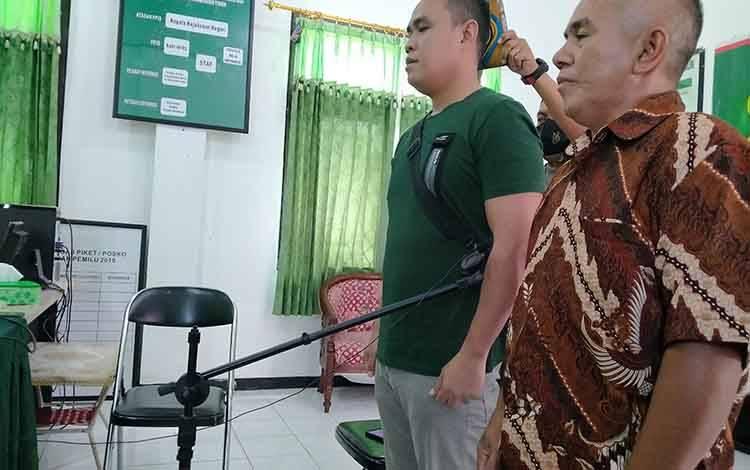 Saksi dimintai keterangannya dalam kasus sabu dengan terdakwa Iman Nurahman alias Ino.