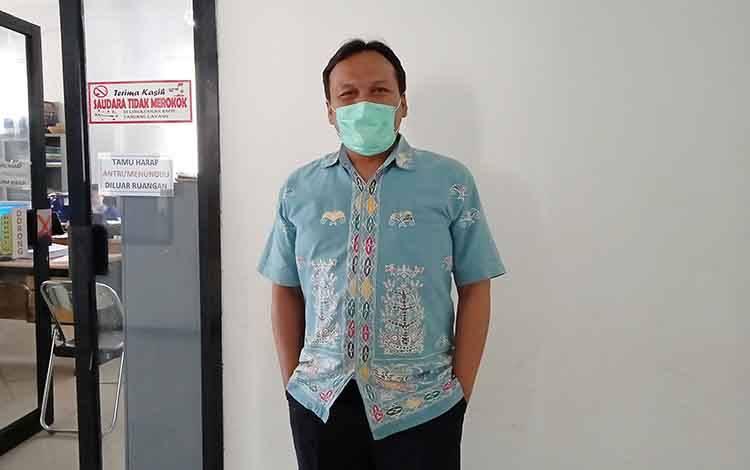 Koordinator Bidang Penanganan Gugus Tugas Percepatan Penanganan Covid-19 Kabupaten Barito Timur, Jimmi WS Hutagalung