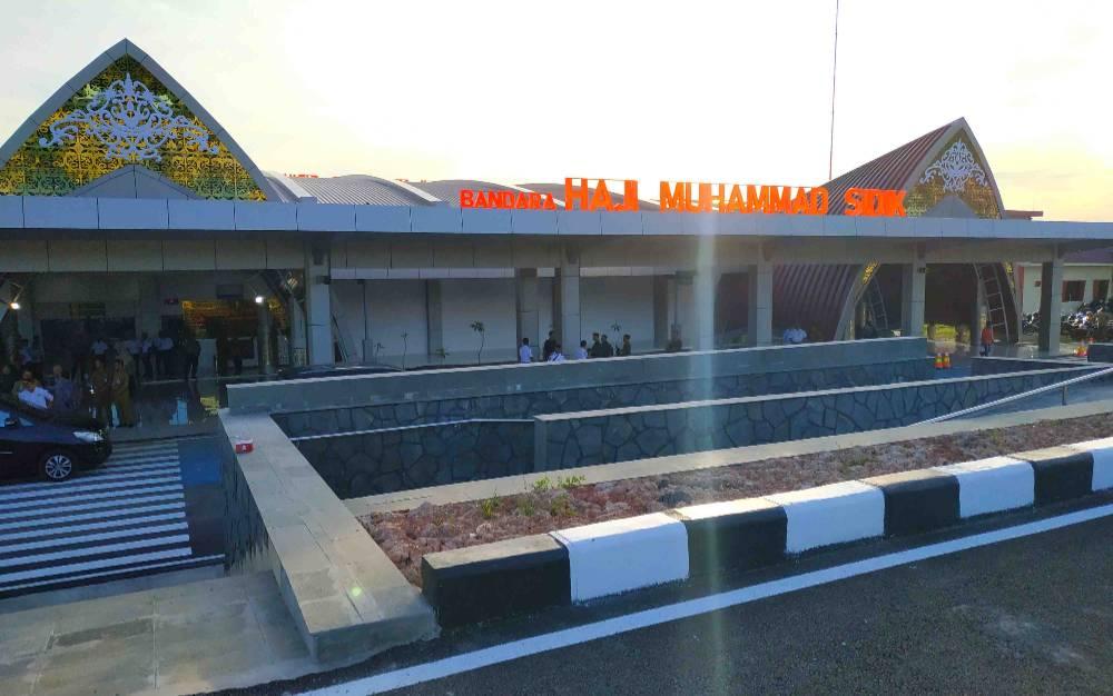 Bandara Haji Muhammad Sidik di Barito Utara.