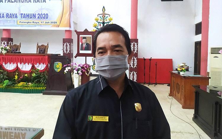 Anggota Komisi C DPRD Kota Palangka Raya Riduanto