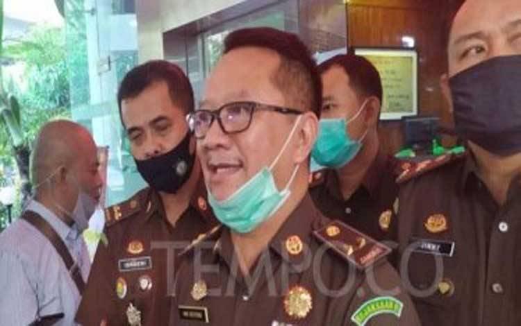 Kepala Pusat Penerangan Hukum Kejaksaan Agung Hari Setiyono, saat ditemui di Kejaksaan Agung, Jakarta Selatan, Selasa, 24 Juni 2020