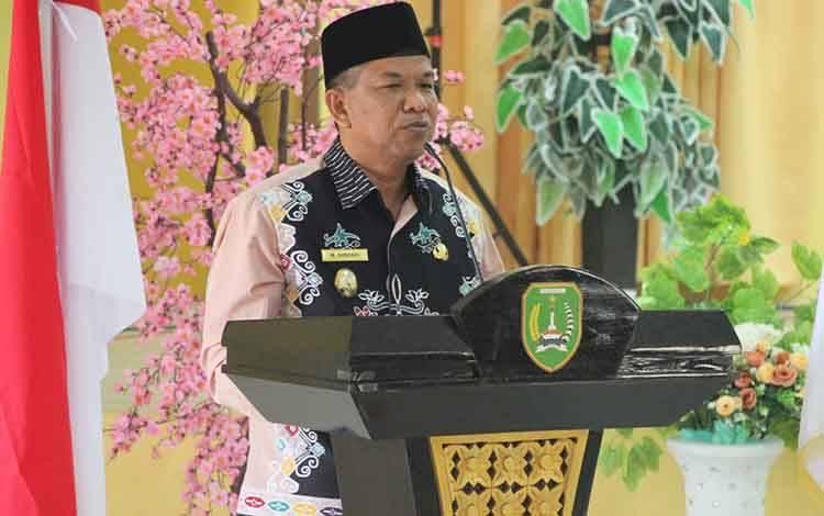 Wabup Sukamara, H Ahmadi.