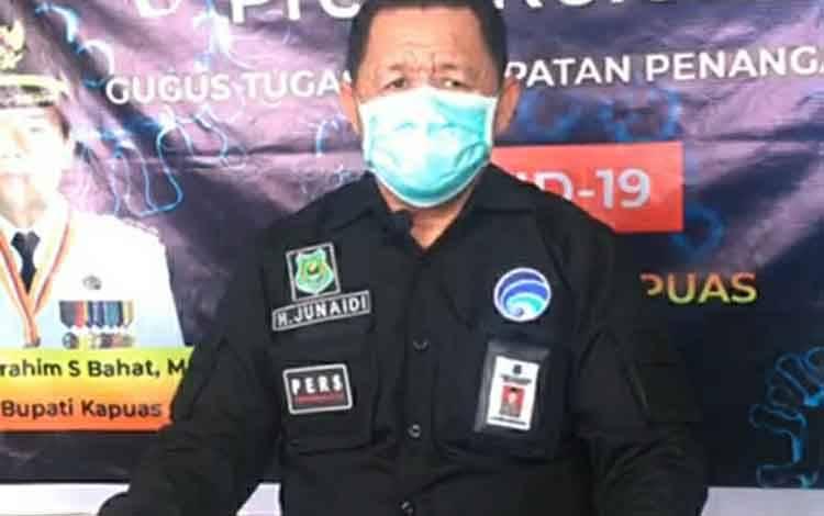 Juru Bicara Satgas Covid-19 Kapuas, H Junaidi