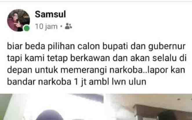 Sayembara yang diadakan Samsul, seorang pengusaha di Sampit.