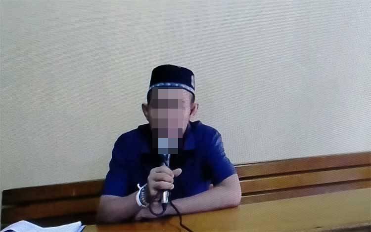 M Yusuf alias Tile terdakwa kasus sabu