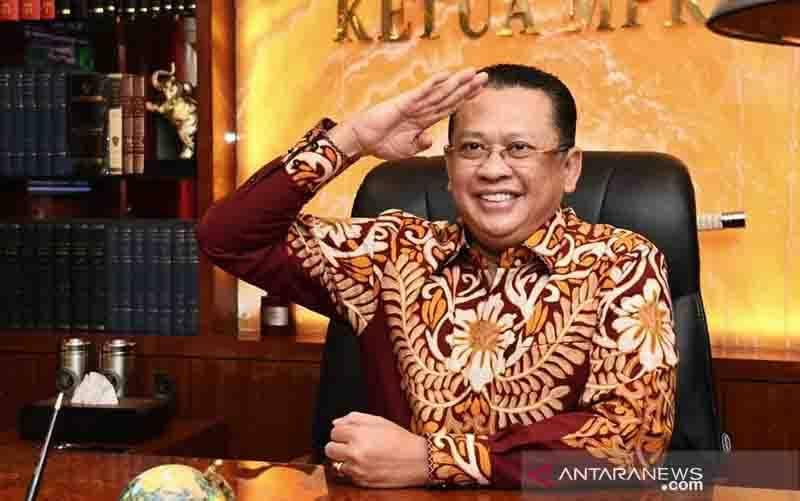 Ketua Majelis Permusyawaratan Rakyat (MPR) RI Bambang Soesatyo. (foto : ANTARA/HO-Humas MPR RI/am)