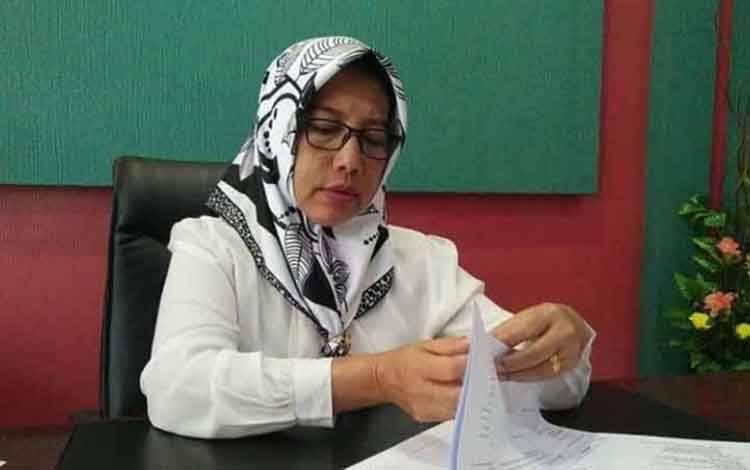 Kepala BKPP Kobar, Aida Lailawati.