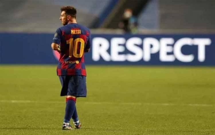 Lionel Messi. (foto : ANTARA)