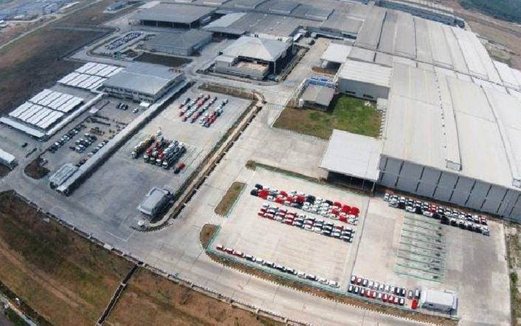 Pabrik PT Astra Daihatsu Motor yang berlokasi di Kawasan Industri Surya, Karawang Timur, Jawa Barat. (Daihatsu)