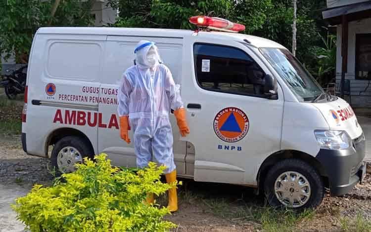 Ambulans Gugus Tugas Percepatan Penanggulangan Covid-19 Kabupaten Barito Timur.