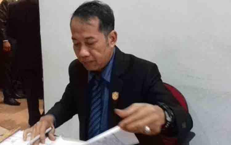 Anggota Komisi IV DPRD Kotawaringin Timur Handoyo J Wibowo
