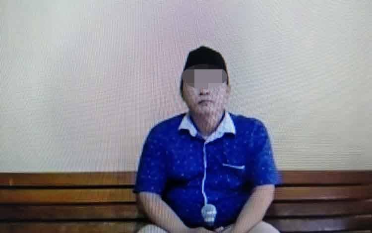 Sehri alias Badak terdakwa kasus pengancaman