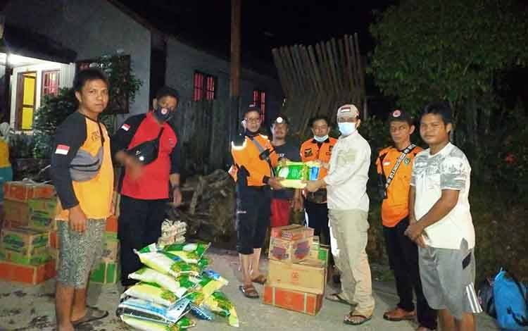 Bantuan untuk warga terdampak banjir mulai disalurkan
