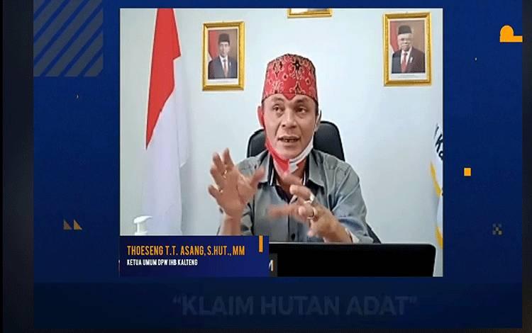 Ketua DPW Indonesia Hebat Bersatu atau IHB, Thoeseng TT Asang.