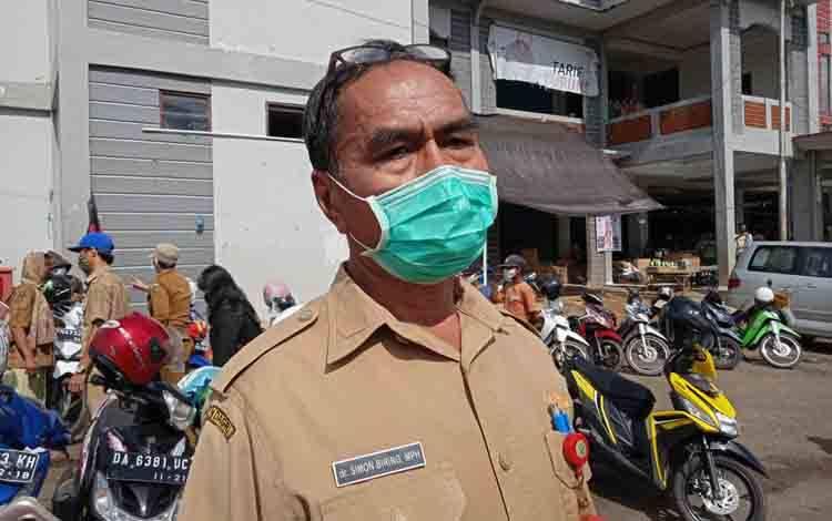 Koordinator Bidang Pencegahan Gugus Tugas Percepatan Penanganan Covid-19 Kabupaten Barito Timur, Simon Biring