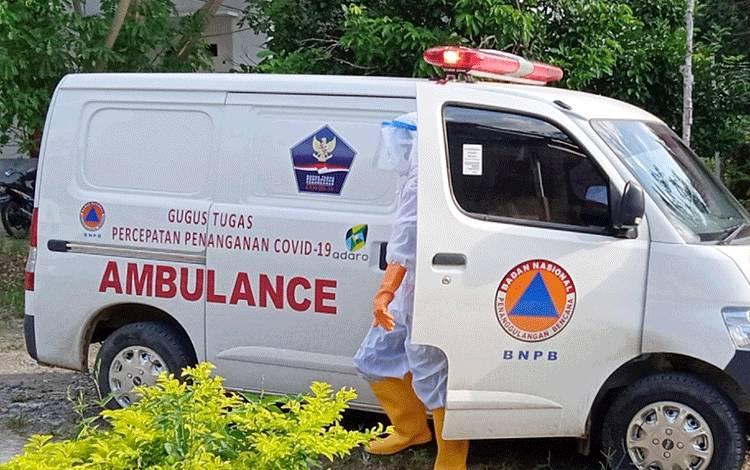 Ambulans Gugus Tugas Percepatan Penanganan Covid-19 Kabupaten Barito Timur.