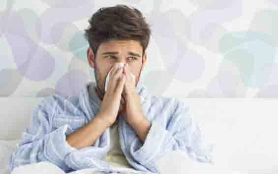 Ilustrasi pria flu. (foto : shutterstock.com via teras.id)