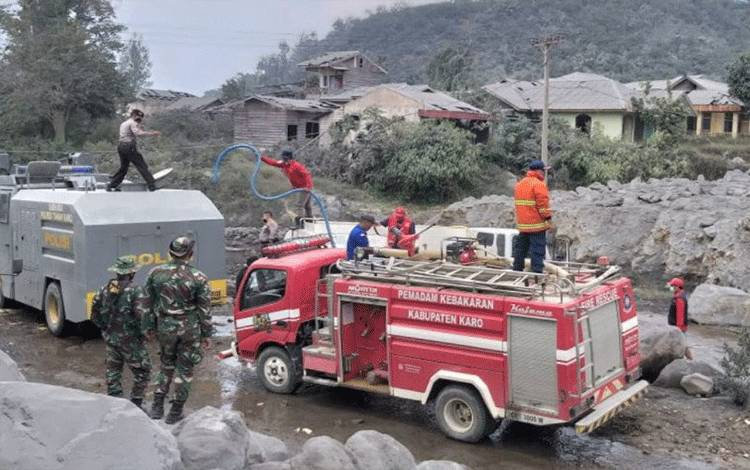 Setelah Gedung Kejagung, Giliran Gedung Kemensos Kebakaran