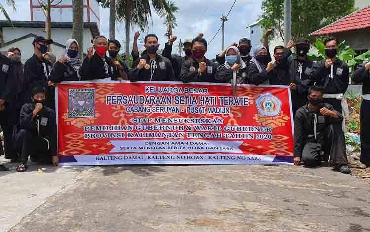 PSHT Cabang Seruyan meyampaikan pernyataan sikap siap menyukseskan pelaksanaan Pilkada Kalteng tahun 2020