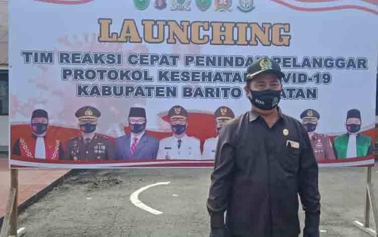 Ketua komisi III DPRD barsel, H Zainal Khairuddin.