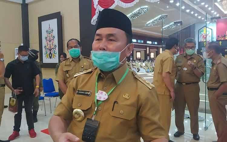 Gubernur Kalteng, H Sugianto Sabran.