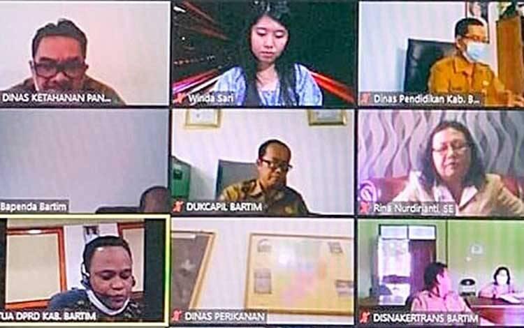 Lanjutan rapat paripurna V DPRD Barito Timur, Selasa 22 September 2020