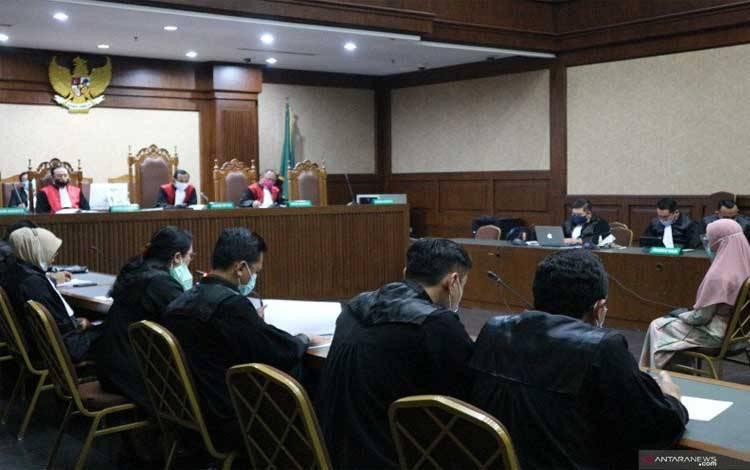 Sidang kasus jaksa Pinangki