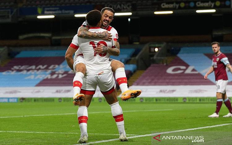 Southampton menang di markas Burnley