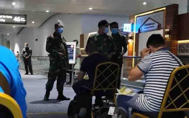 Situasi penanganan penumpang asal penerbangan luar negeri di Terminal 3 Bandara Soekarno-Hatta, Tangerang pada Sabtu, 26 September 2020. Foto diambil dari akun Twitter @trinitytraveler