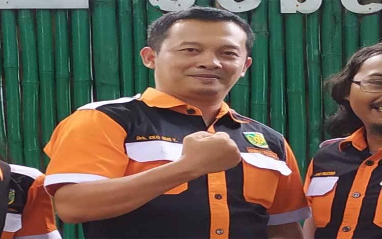 Kepala Seksi Kesehatan Hewan, Distankepang Kota Palangka Raya, drh Eko Hari Yuwono
