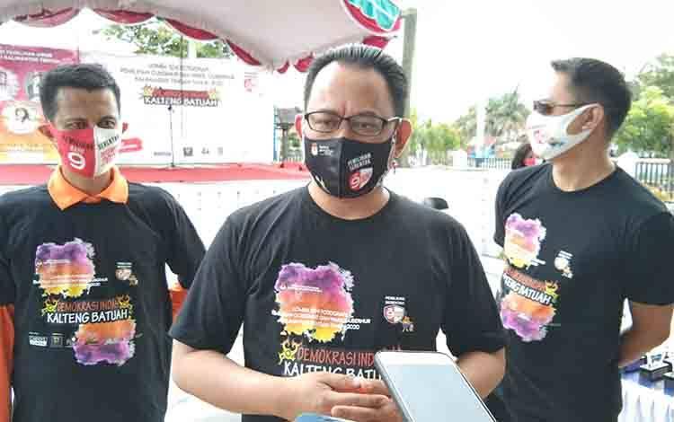 Nadalsyah Mundur Sebagai Ketua Tim Pemenangan Ben-Ujang, Ini Kata Ketua KPU Kalteng