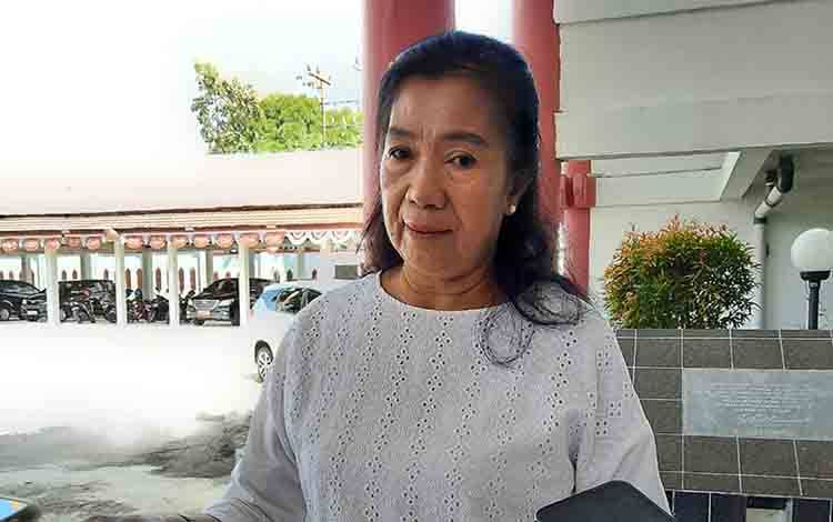 Anggota Komisi C DPRD Kota Palangka Raya, Anna Agustina Elsye.