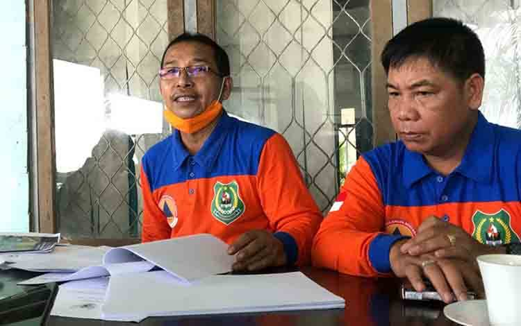 Ketua Harian Satgas Penanganan Covid-19 Kapuas, Panahatan Sinaga.