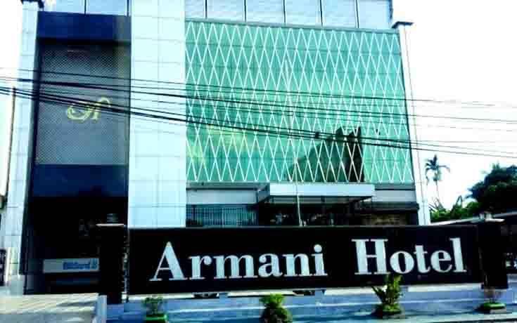 Hotel Armani di Muara Teweh, Barito Utara.