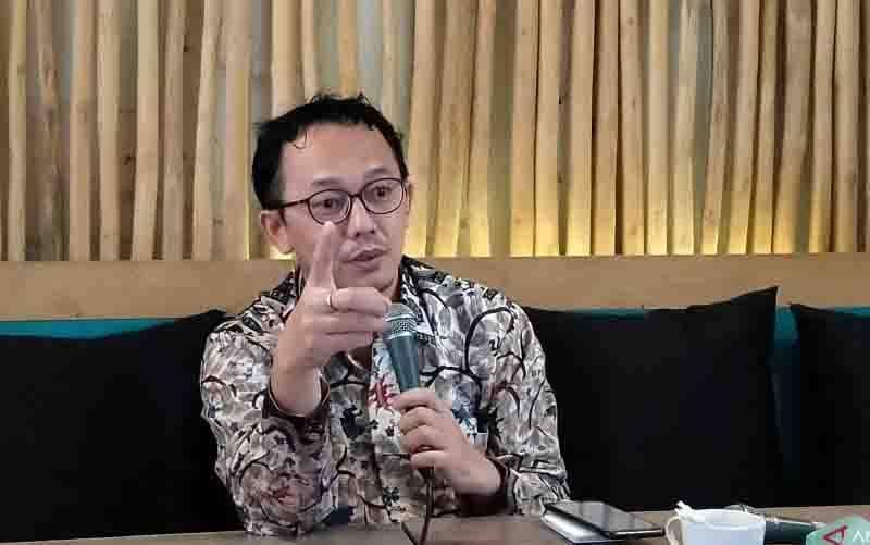 Komisioner Komnas HAM, Beka Ulung Hapsara. (foto : ANTARA/Nur Imansyah)