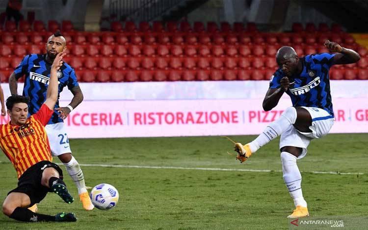 Laga Inter Milan vs Benevento