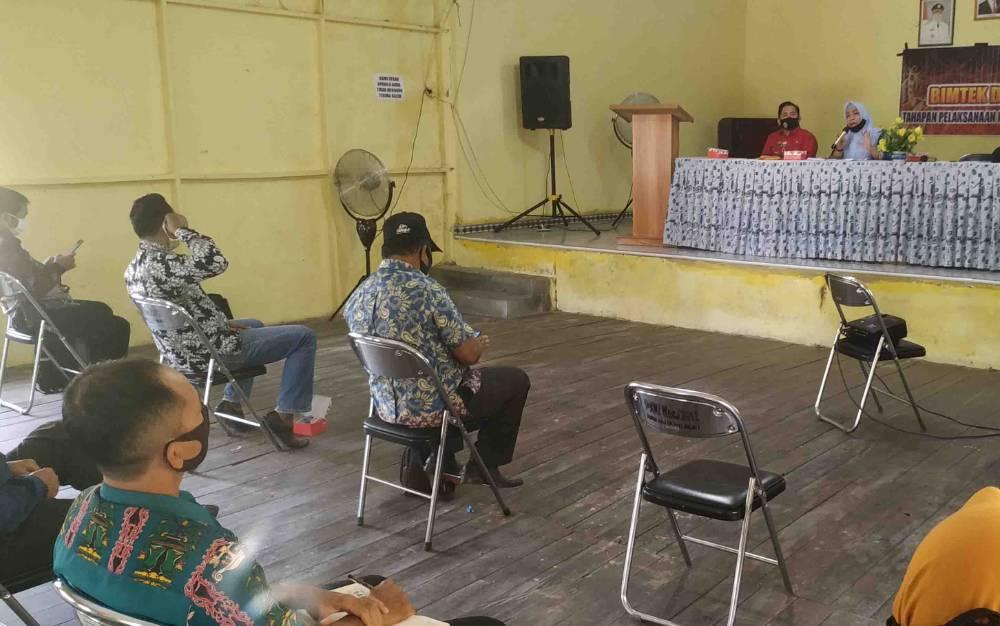 Sosialisasi tahapan Pilkada Serentak di Kabupaten Pulang Pisau.